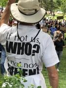 Peaceful protest in Boulder