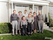 xmas 1956 Cali cousins in SLC