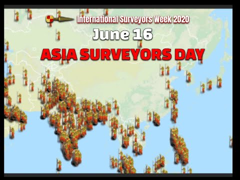 Asia Surveyors Day June 16th #ISW2020 International Surveyors Week 2020