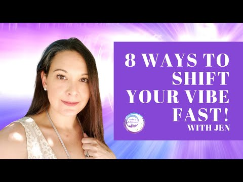 8 Ways to RAISE your Vibe FAST!