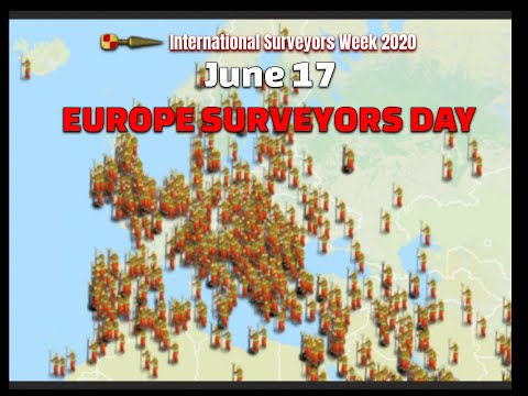 European Surveyors Day June 17th #ISW2020 International Surveyors Week