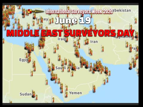 Middle East Surveyors Day June 19th #ISW2020 International Surveyors Week