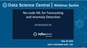 DSC Webinar Series: No-code ML for Forecasting and Anomaly Detection