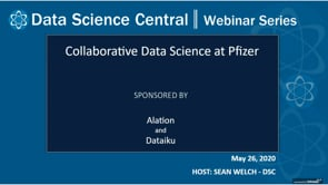 DSC Webinar Series: Collaborative Data Science at Pfizer