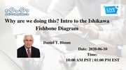Why are we doing this? Intro to the Ishikawa Fishbone Diagram