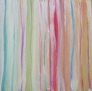 lines & color 3  2017 60x60   Gips Acryl-Mineralf. Kreide, Farbst.