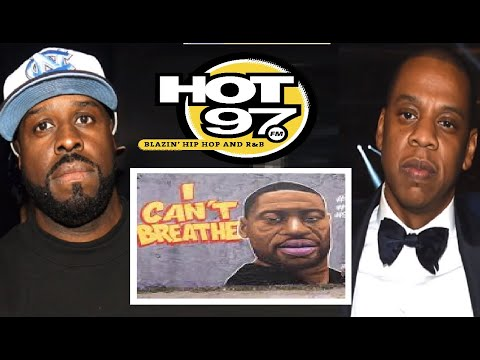 Funkmaster Flex SNAP OFF On JAY Z For Not Supporting Kaepernick & George Floyd Over NFL MONEY!!