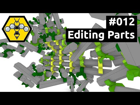 Wasp for Grasshopper #101 - Tutorial #012: Editing Parts