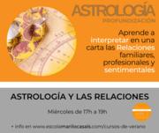 CURSO VERANO ASTROLOGÍA Y LAS RELACIONES -ZOOM