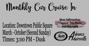 Downtown Adairsville Cruise-In on the Public Square -Adairsville, GA