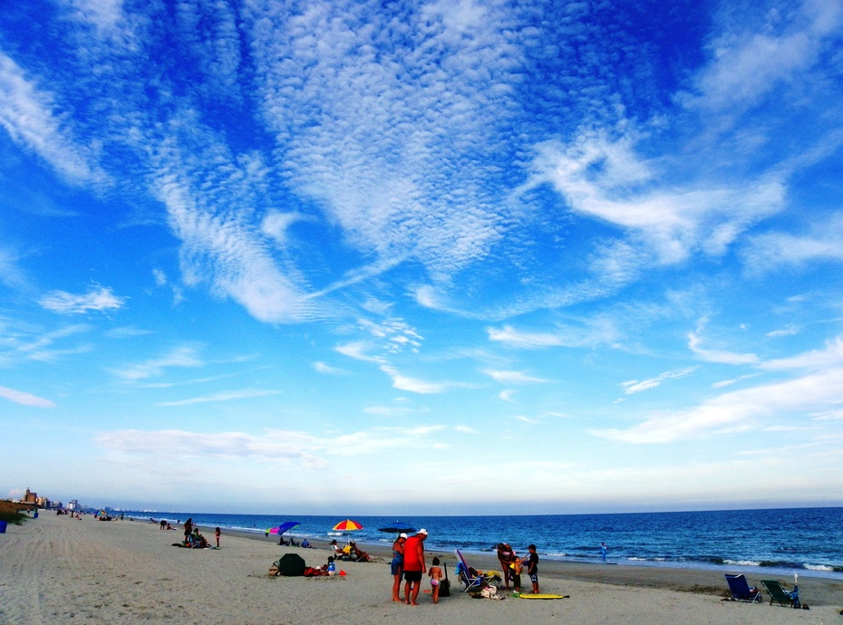 """Blue Sky Thinking"" Beach"