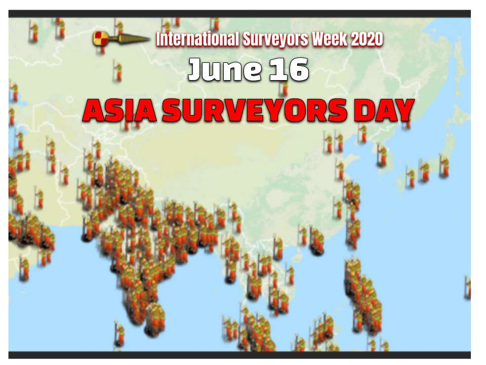 Asia Surveyors Day June 16th #ISW2020