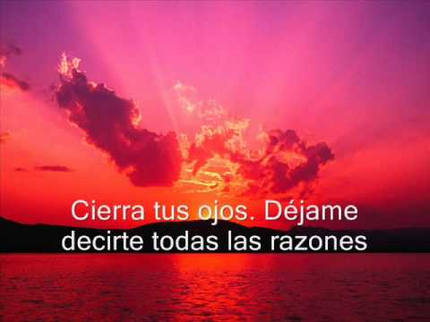 Michael Bublé - Close your eyes (En Español)