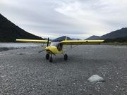 Nice river landing: STOL CH 750