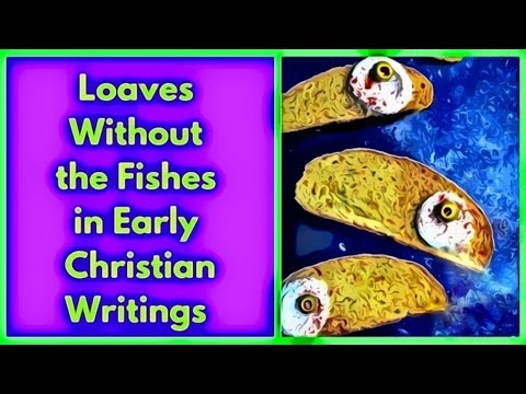 Loaves Without The Fishes in Early Christian Writings  -- The Vegan Vegetarian Series Continued