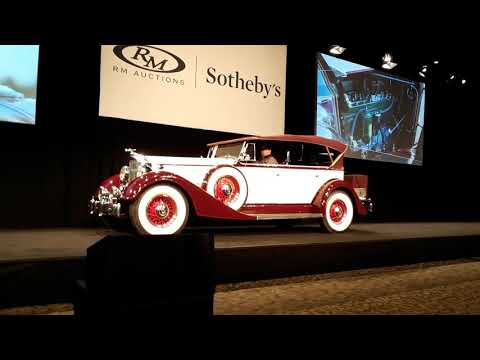1934 Packard Eight Phaeton The Greatest Generation Crosses the Block