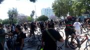 George Floyd protest in Leimert Park 6-6-2020