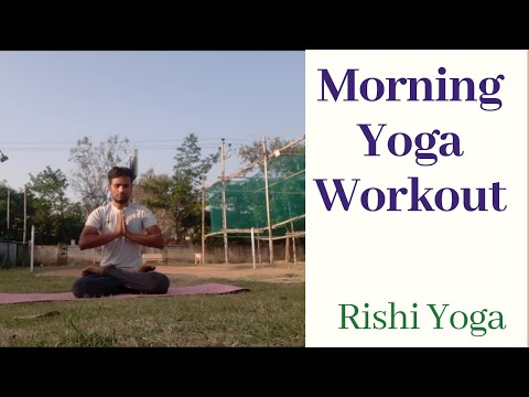 Morning Yoga Workout / Rishi Yoga /#morningroutine #workoutroutine  #healthylifestyle #yoga