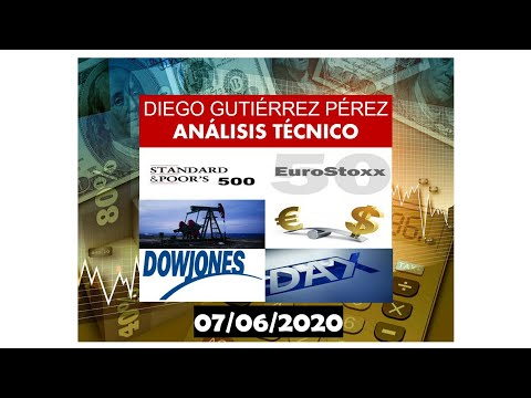 Análisis de Índices Bursátiles, Petróleo y EUR/USD. 07/06/20.