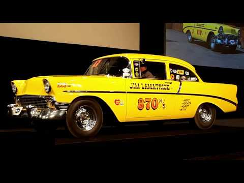 1956 Chevy 210 Bought New To Race Ran the Strip From Day One
