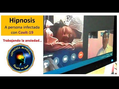 Atención a persona con Covit-9 - Trabajando la ansiedad - Hipnosis Mundial
