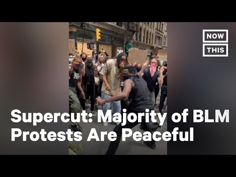 The Majority of Anti-Racism Protests are Entirely Peaceful