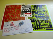 Mail art by Serse Luigetti (Perugia, Italy)
