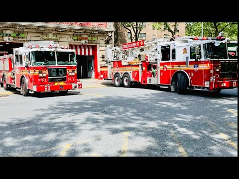 """Everyone Goes"" - FDNY Battalion 14, Engine 60, and  Tower Ladder 17 Responding"