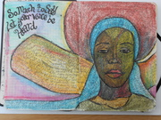 Let your voice be heard - Art Journal Page