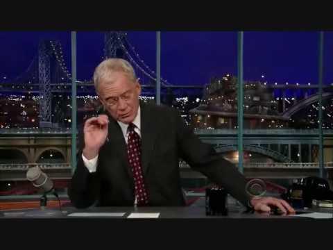 David Letterman Scandal Song