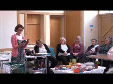 Pauline Rowson reading from DI Andy Horton crime novel (2) Deadly Waters