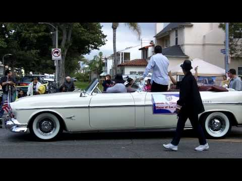 Mayor Villaraigosa, MLK Day Parade & the Leimert Park Crenshaw Line