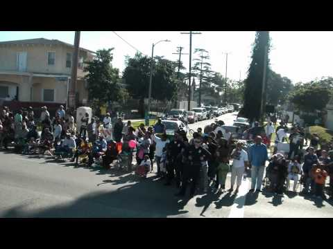 Martin Luther King Parade in Los Angeles Jan.17th. 2011