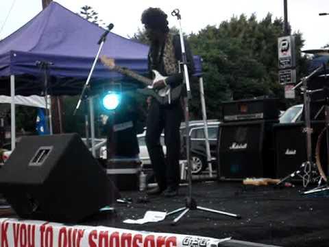 Jimi Hendrix at Juneteenth Leimert Park Los Angeles