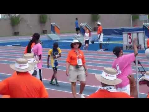 Jordan Baylis 2012 National Junior Olympic Long Jump Champion