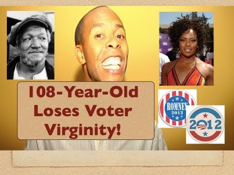 AMAZING: 108-Year-Old Votes For First Time EVER! (Funny News)