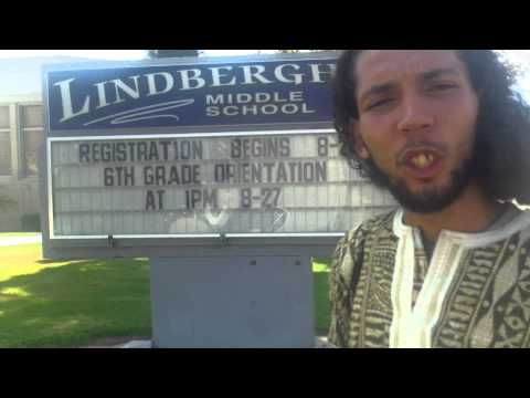 The Historic 33mile Walk for Empowerment: Bing Bing talks about attending Lindbergh Middle School