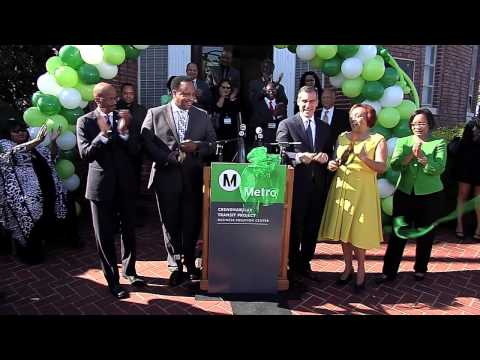Crenshaw/LAX Transit Project Business Solution Center Ribbon Cutting