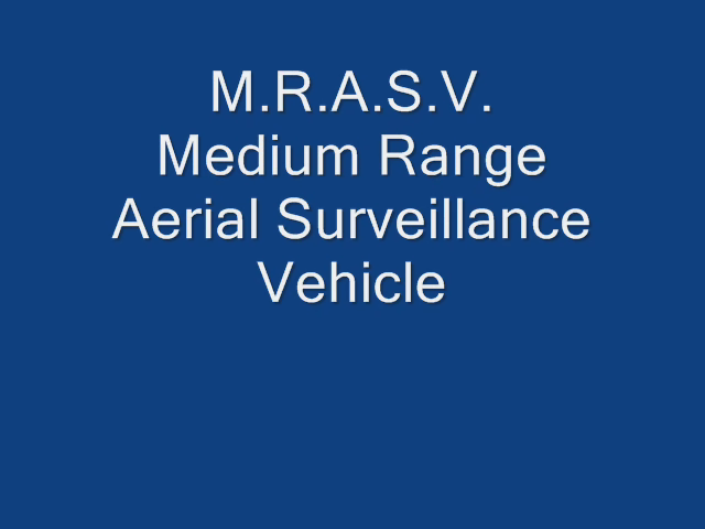 MRASV TEST FLIGHT