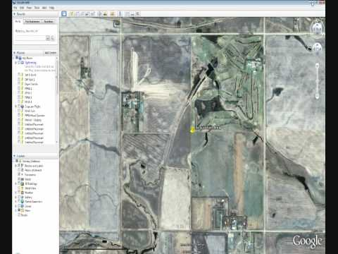 Google Earth & AI-manager UAV Flight Planning