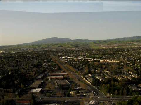 Still photo timelapse over Pleasanton