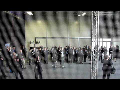 Farnborough Airday 2010 press day first UAS flight