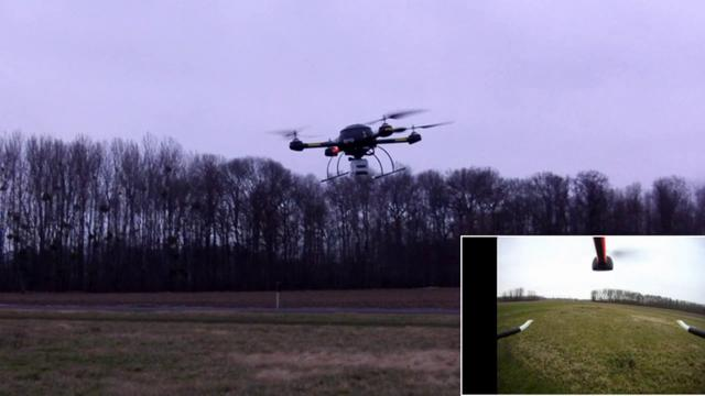 High speed flight with the QRO v6 and a GoPro HD Wide on board