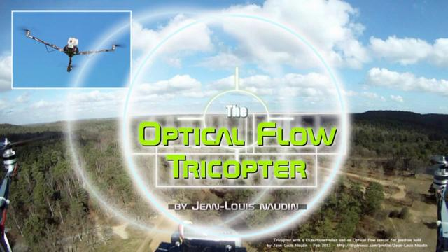 Position Hold flights at High Altitude with the OptiFlow Tricopter (OFT)