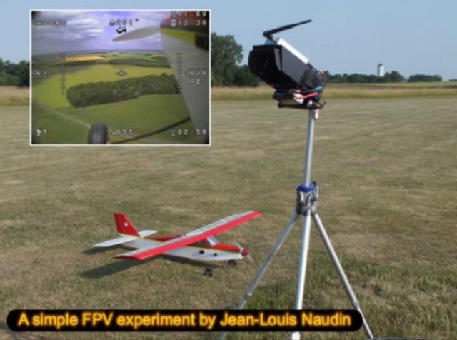 A simple FPV flight with the Rembizi OSD...