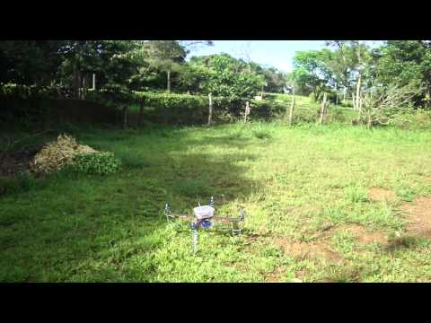 test UAV quad