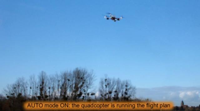 Arducopter v2 in action: Full autonomous navigation