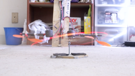 Spin Copter oscillation tests