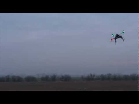 ArduCopter V2.4 Final - Heavy X8 Coax - Stabilized flight