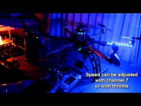Arducopter showleds, arming and low battery alarm